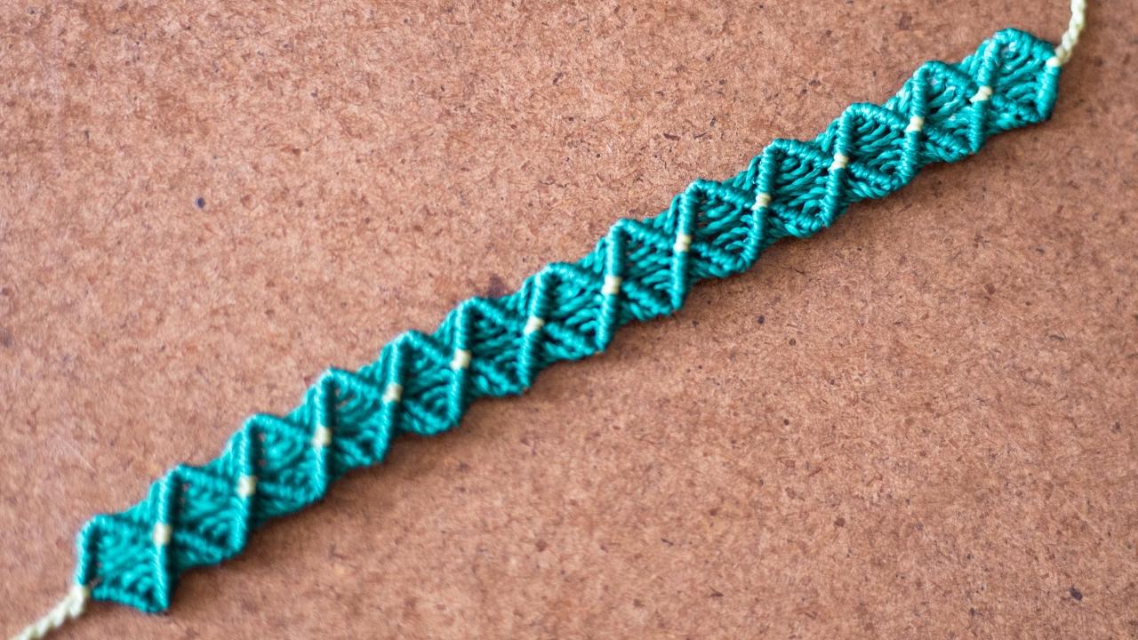 Macrame Bracelet Easy