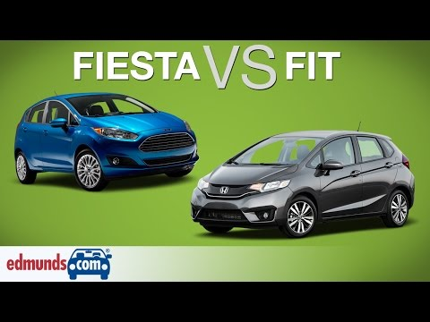 2015 Ford Fiesta vs 2015 Honda Fit Two Sub Compacts Face Off