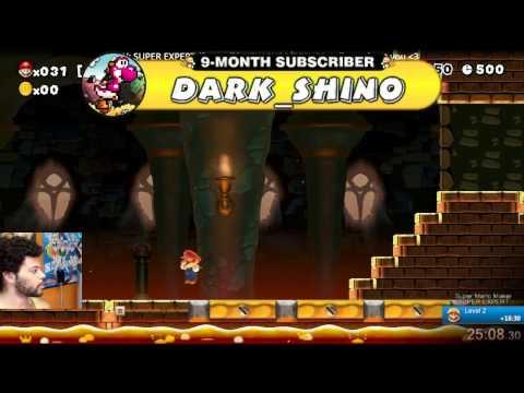Super Mario Maker - MOST CLUTCH SUPER EXPERT EVER! 40 LIVES TO GET 6 LEVELS DONE! LET'S GO! [FULL]