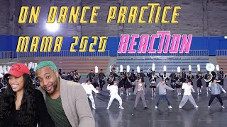 BTS (방탄소년단) 2020 MAMA 'ON' DANCE PRACTICE | COUPLES REACTION | REED REACTS. |