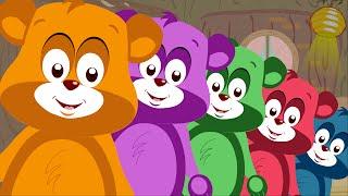 Five Little Teddy Bears
