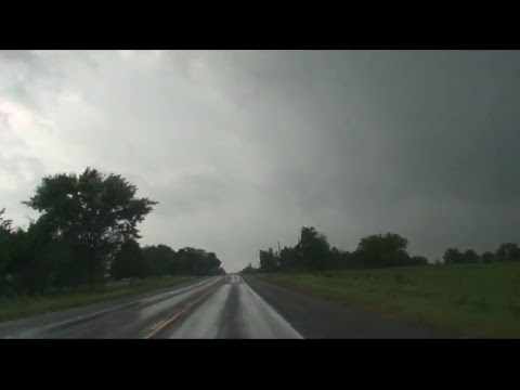 LIVE Storm Chase - April 29, 2017 Canton, TX Tornado.