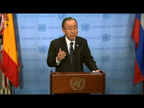 ICP Asked Ban Ki-moon About Burundi & UK Worry of Threat of Genocide, & About Ashe Corruption Case