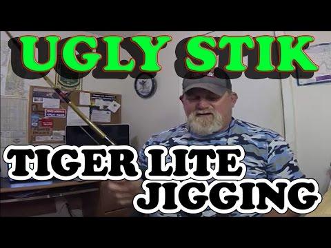 UGLY STIK TIGER LITE JIGGING RODS - 'Changes'