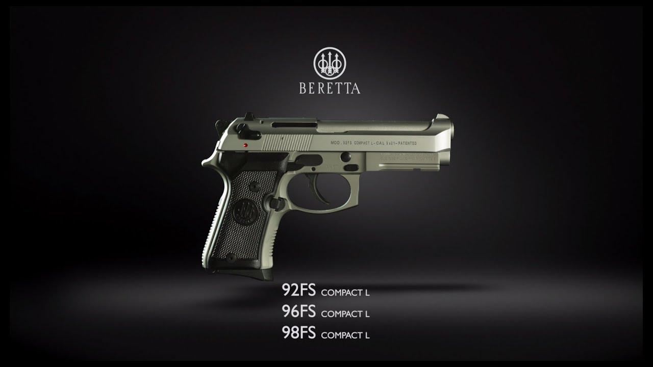 Beretta 92FS Compact L Inox (M9A1)