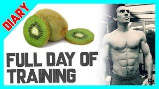 Full Day of Keto 🏃 Training, Essen, Blutzucker 🏋 Schnell wieder in Ketose kommen 🚴🏻