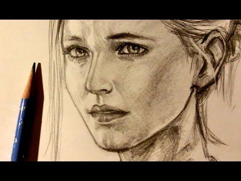 ASMR   Pencil Drawing 12   Elena (Request) Mp3