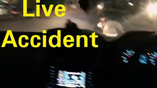 #1 Rash driving in live accident just miss