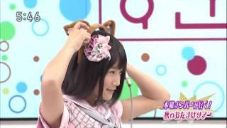 NMB48 城恵理子 犬耳罰ゲーム