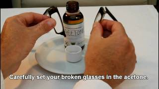 Fix Broken Acetate Glasses: Eyewear Glasses Repairs Made Easy.