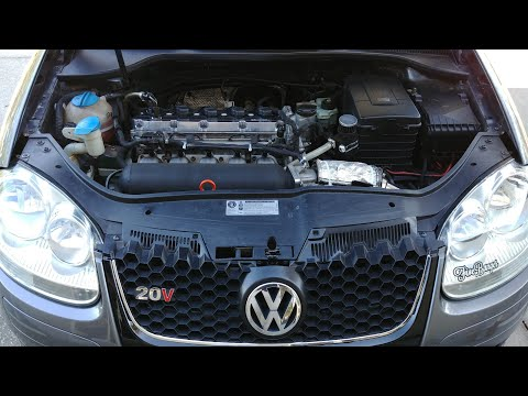 VW Jetta 2.5L Exhaust AND Intake Sounds!