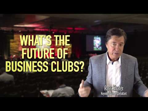 Why Are Clubs & Associations Dying? | Ross Shafer | Keynote Speaker | Business author