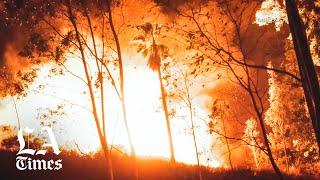 San Bernardino fire threatens homes, forces evacuations