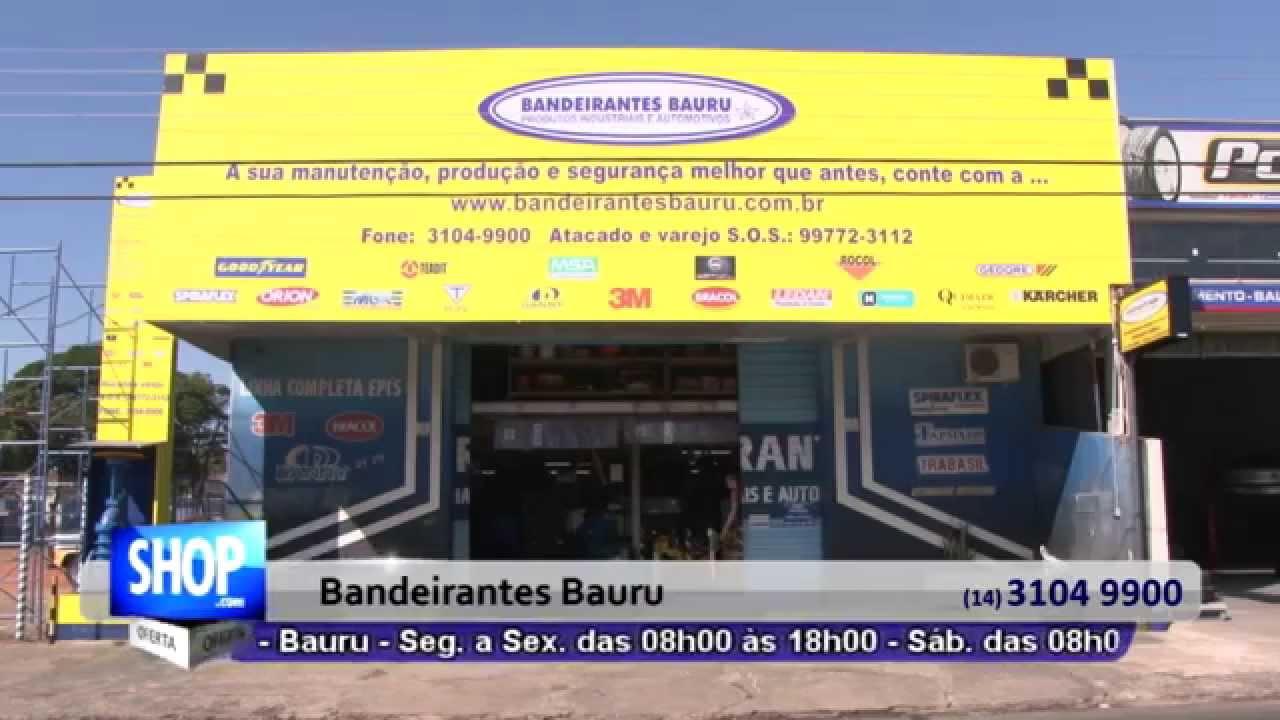 PRODUTOS DE SEGURANCA EM BAURU - BANDEIRANTES BAURU - S 46 - YouTube d85f17c6fb