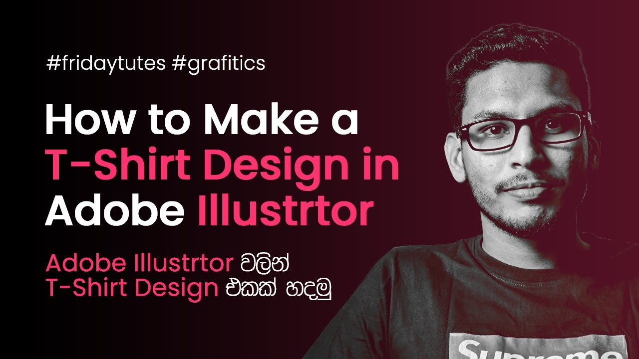 How To Create Typhography Design For T Shirt In Illustrator Part 6
