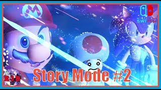 Playing Story Mode Part 2: Mario & Sonic at the Olympic Games Tokyo 2020 Nintendo Switch Livestream