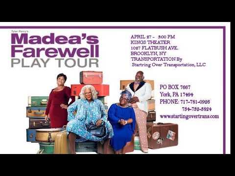 MADEA'S FAREWELL TOUR  FINAL Mp3