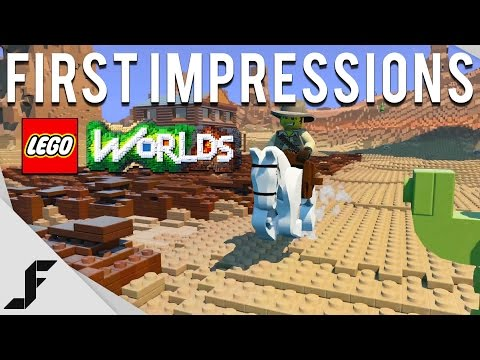 LEGO WORLDS - First Impressions
