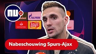 Ajax na 'knappe prestatie' tegen Tottenham met half been in finale | Nabeschouwing Champions League