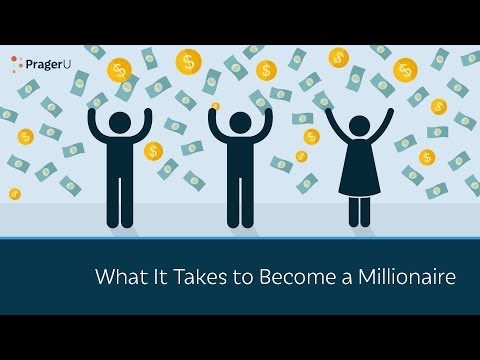 What It Takes to Become a Millionaire