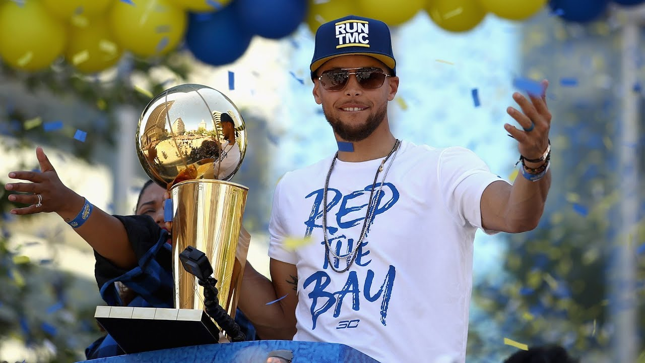 Steph Curry's Best Moments From the Warriors Championship Parade - YouTube