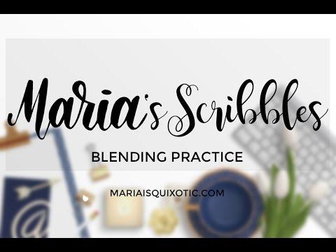Blending practice with marvy uchida youtube