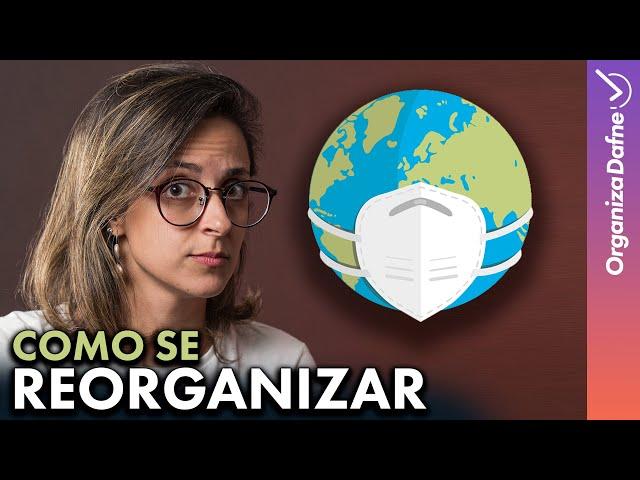 Como Organizar a Rotina no NOVO NORMAL: 6 Dicas para aplicar hoje | Organiza Dafne