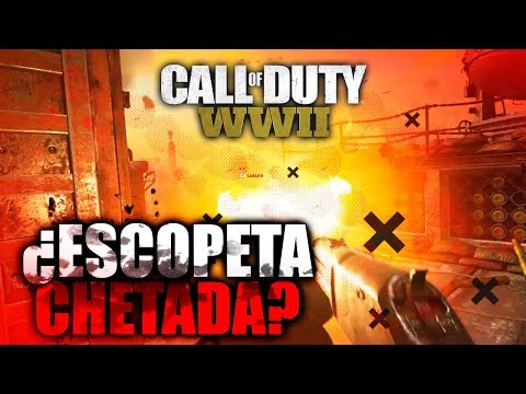 ESCOPETA + FUEGO = CHETO Call Of Duty World War 2