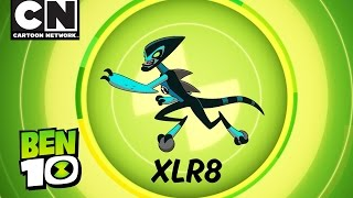 Ben 10 | Aliens in Action: XLR8! | Cartoon Network