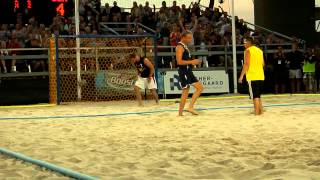Shoot-out rules in beach handball