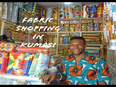 Live.Love.Africa: Kente Fabric Shopping In Kumasi, Ghana