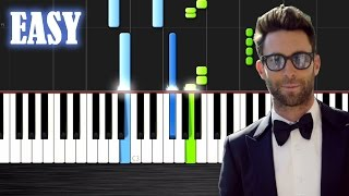 Maroon 5 Sugar - EASY Piano Tutorial by PlutaX - Synthesia.mp3