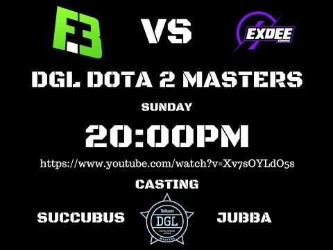 DGL Flipside Tactics vs eXDee Gaming LIVE!