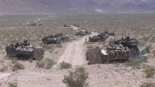 TWENTYNINE PALMS!  Marine Corps, 3rd Assault Amphibian Battalion, Exercise Desert Scimitar 2014!