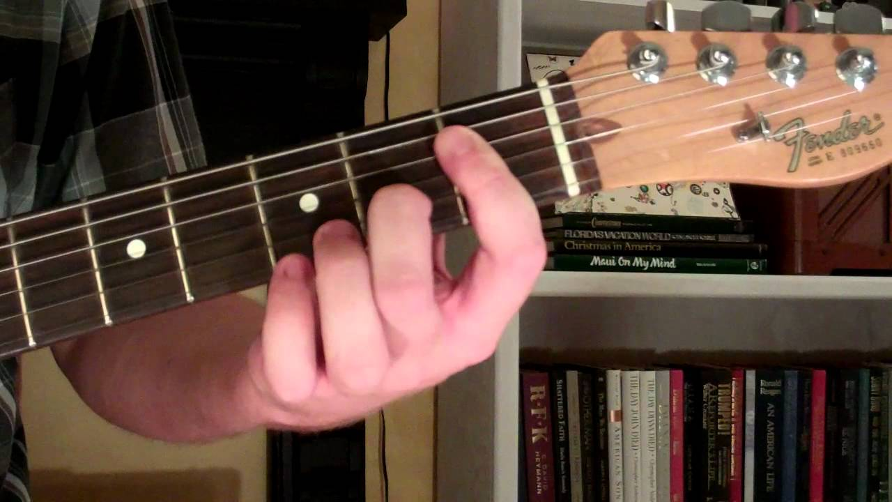 How To Play The Eb11 Chord On Guitar E Flat Eleventh 11th Youtube