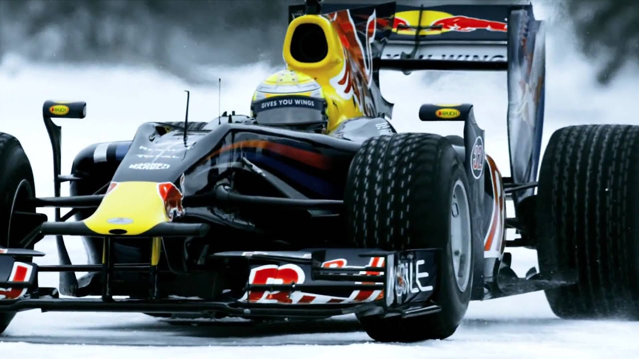 Winter Tires Quebec >> F1 car on frozen lake - Red Bull Racing returns to Quebec - YouTube