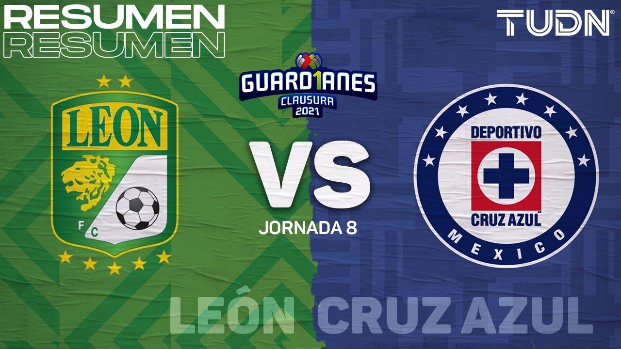 Resumen y gol | León vs Cruz Azul | Torneo Guard1anes 2021 Liga MX - J8 | TUDN
