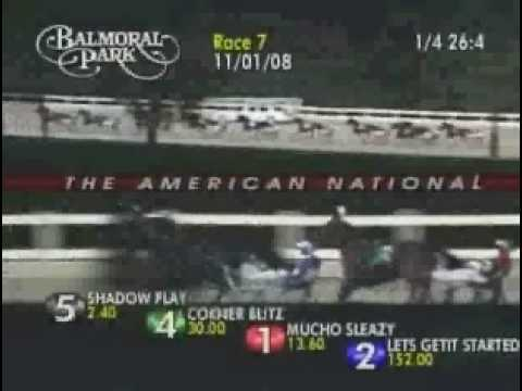 SHADOW PLAY 2008 Balmoral 3YCP AmNational $300,000 1:49.3