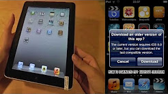 how to install apps on iOS 5.1.1 or previous version of iOS..