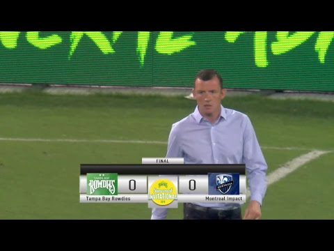 Tampa Bay Rowdies vs. Montreal Impact---- 2/20/2019