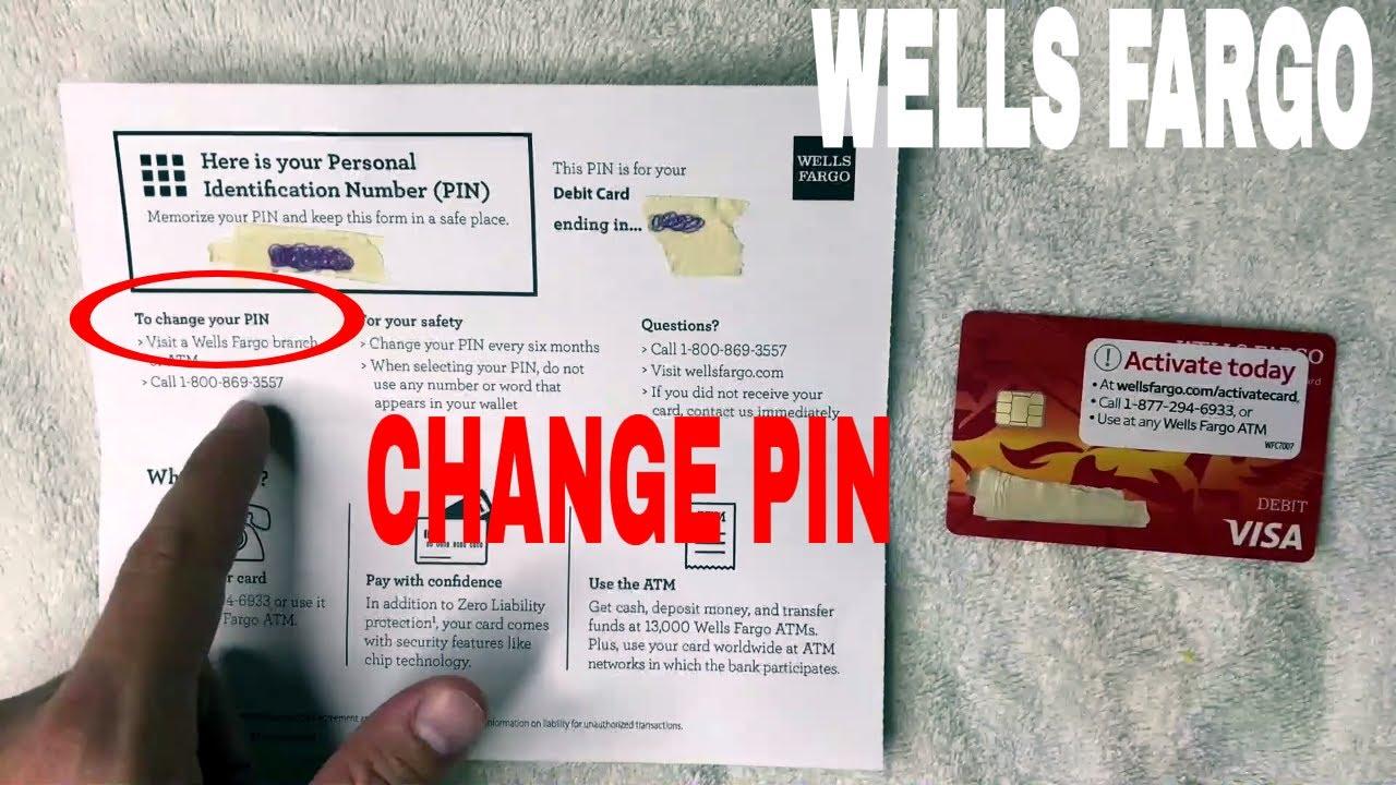 ✅ 13 Ways To Change Wells Fargo PIN Number 🔴