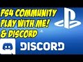 PLAY WITH ME! Playstation Community & Discord
