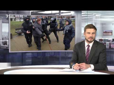 На акции оппозиции в Минске задержаны сотни человек