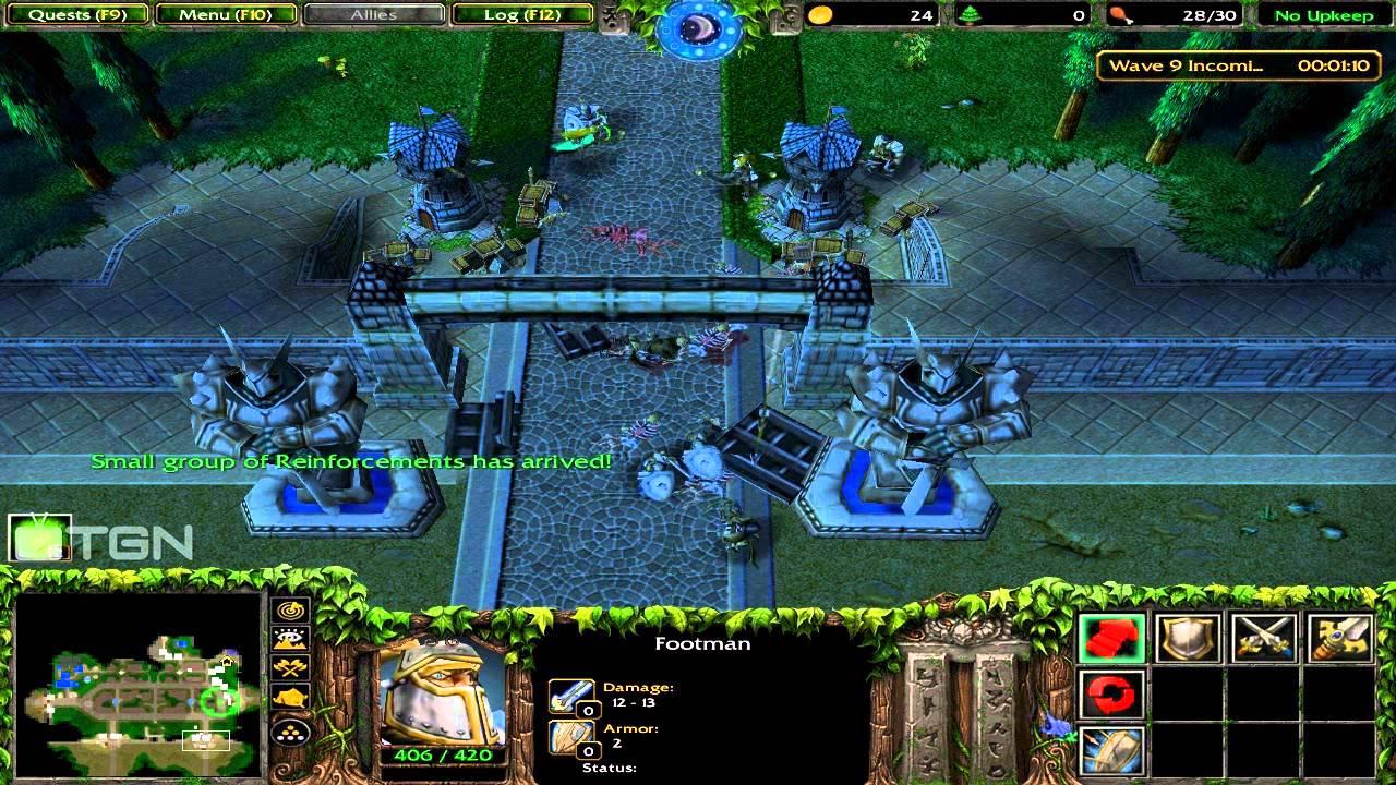 warcraft 3 custom campaign alizas journey