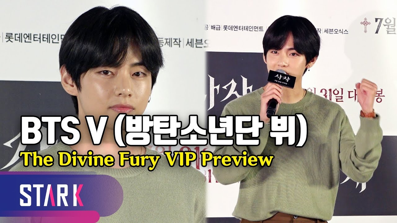 Download BTS V, 'The Divine Fury' VIP Preview (방탄소년단 V, 박서준 최우식에게 한 응원은?)