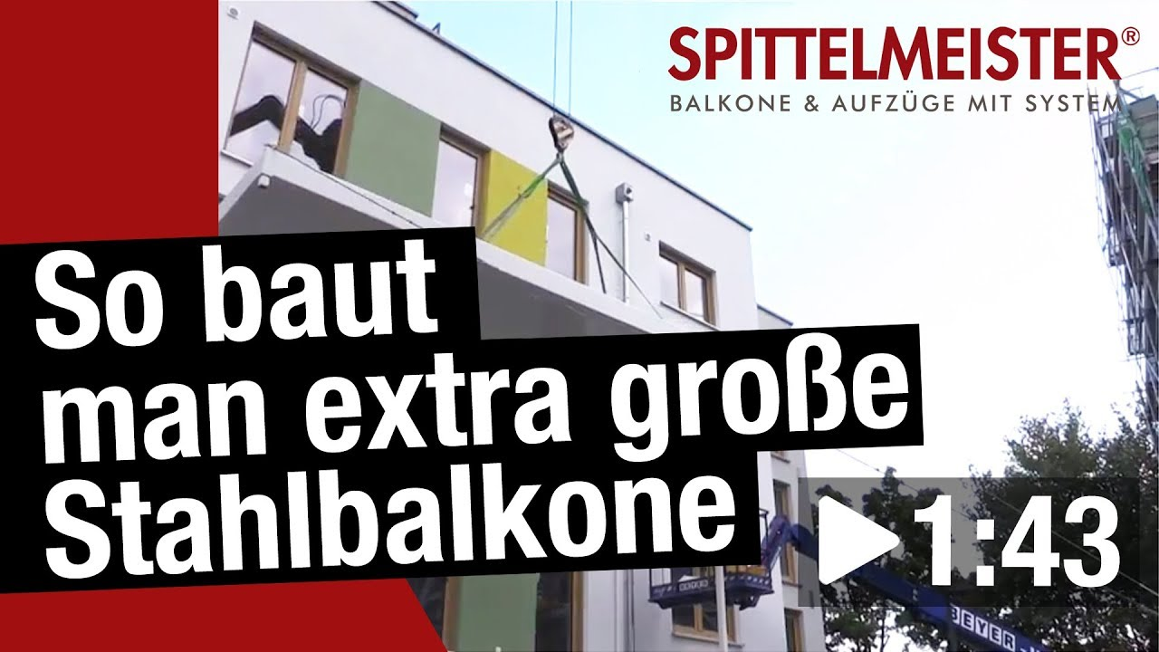 Youtube Video: Wie baut man einen Balkon
