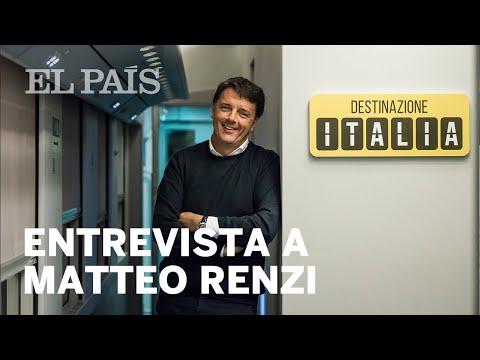 Entrevista al ex primer ministro italiano Matteo Renzi   Internacional