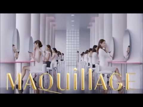 Shiseido MAQuillAGE True Liquid Long Keep UV & Essence Rich White Liquid UV TV Commercial