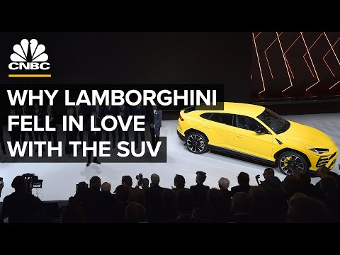 How Lamborghini Learned To Love The SUV