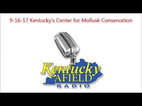 9-16-17 Center for Mollusk Conservation - Kentucky Mussels and what they mean for fresh water